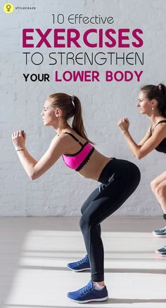 Have you always longed for those sexy, sculpted, toned legs? Then here are 10 effective lower body workouts for you to check out and include ...