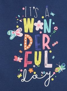 This cotton rich dress is complete with a printed slogan and floral design. Team it with a colourful pair of shoes and she's ready to have a wonderful day. Girls navy slogan dress Cotton rich Slogan print Crew neck Long sleeves Cuffed wrists Keep away from fire