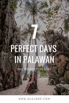The ultimate Palawan itinerary: These are the best things to do in Palawan Philippines - and how to do them. Make the most of your trip to Palawan with this itinerary covering the best activities in El Nido and Coron. From beaches and boats, to island hop Voyage Philippines, Les Philippines, Philippines Travel Guide, Philippines Vacation, Palawan Island, El Nido Palawan, Fiji Islands, Palawan Tour, Cool Places To Visit