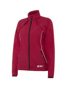 Keela Coyote MA Jacket - Raspberry Female version of our ultra-light condor jacket the Coyote has been designed for the weight-conscious user Zip-off