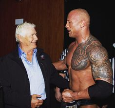 "#TBT 2013 becoming #WWE Heavyweight Champion for the 8th time. First person to congratulate me backstage was WWE Hall of Famer and close family friend Pat Patterson - one of the greatest mentors I've ever had in the world of sports entertainment. At 23yrs old I called Pat and told him I was training to get into the business. He said ""What business?"". I said ""the wrestling business"". He said with great clarity ""Why the fuck would you want to do that?"". He eventually agreed to come watch one…"
