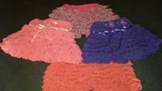 Pollera pantalón coloridas