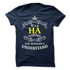 HA-  it is - #designer t shirts #college sweatshirt. GET => https://www.sunfrog.com/Valentines/-HA--it-is.html?id=60505