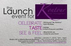 Kontour Event Management Launch Party & CEO Birthday