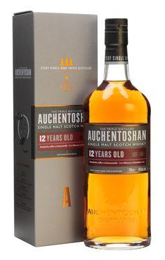 (Lowland) Auchentoshan 12 Year Old Scotch Whisky : The Whisky Exchange Cigars And Whiskey, Scotch Whiskey, Whiskey Bottle, Vodka Bottle, Single Malt Whisky, Sweet Notes, 12 Year Old, Alcoholic Drinks, Cocktails