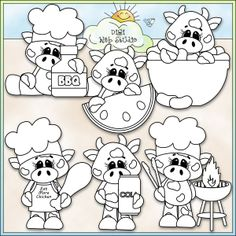 BBQ Beef 1 - NE Kristi W. Designs Digi Stamps : Digi Web Studio, Clip Art, Printable Crafts Digital Scrapbooking!