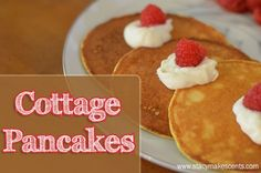 Trim Healthy Tuesday: Cottage Pancakes (S) - Coconut Flour, Eggs, Cottage Cheese, Almond Milk
