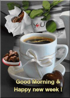 Happy Monday Gif, Happy Weekend Images, Happy Monday Morning, Happy New Week, Good Morning Gift, Good Morning World, Good Morning Quotes, Morning Pictures, Morning Images
