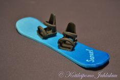 Fondant snowboard