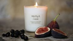 Scented Candle of Wild Fig and Cassis.....Earthy scent of green figs together with deep musk background of CassisThese handmade candles, made from 100% Natural Wax just outside the historic city of Bath, are rapidly gaining a committed following. They are made by a local candle maker here in Wiltshire and each is hand poured into a beautiful glass pot, using high quality fragrances and finest wicks for that ultimate result. They come in four glorious scents and in four useful sizes, perfect…