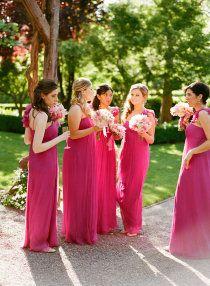 2014 Wedding Trends | Raspberry Color Wedding