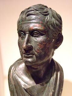 Bust of Menander Roman Bronze 1-25 CE | Flickr - Photo Sharing!