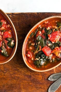 Turkish Spinach with Tomatoes and Rice Recipe - NYT Cooking