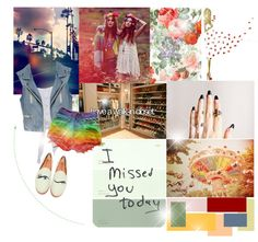 """""""DREAM,BRIGHT,LOVE"""" by letterstomuge ❤ liked on Polyvore"""