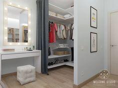 Quartos minimalistas por Мастерская дизайна Welcome Studio