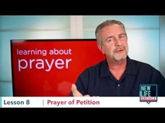 Teaching by Dave Butts - http://www.harvestprayer.com/ Though it shouldn't be the sum total of our prayer life, it is important to bring all of our needs to God. Choose a posture of humility before a good and loving father and know that He loves to provide for us.