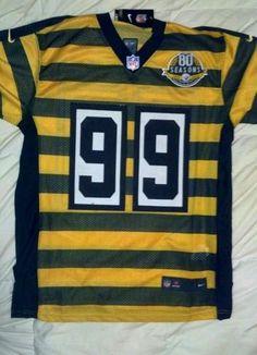 ce32f421ba2 ... 80th Season Pittsburgh Steelers Brett Keisel 99 throwback jersey size  48 x-large ...