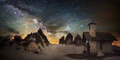 Rifugio Locatelli alle Tre Cime di Lavaredo Belluno Dolomiti Veneto Italia foto Luca Concas