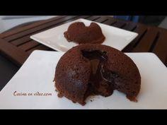 Receta de Coulant (fondant) de chocolate #191 rápido y fácil - Cocina en video.com - YouTube