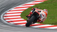 Marc Marquez overcame tricky conditions at Sepang International Circuit. Early in the final Q2 session the track was still drying  but in th...