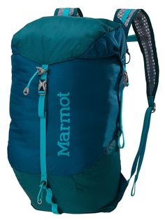 Marmot Kompressor Bag $50 . Adventure Travel Gear.  My Daypack is the workhorse of my Outdoor gear keeping me hands-free.