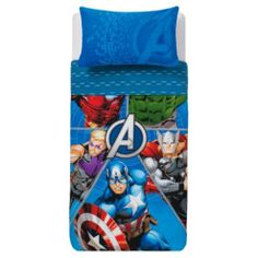 NEW SS14! Buy Marvel Avengers Hero Fragment Duvet set SB from our Duvet Covers range - Tesco.com