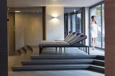The ElisabethHotel Premium Private Retreat in Mayrhofen in the Zillertal in Tyrol is an Adults Only Wellness Hotel a place of peace and relaxation. Alpine Style, Penthouse Suite, Rest And Relaxation, Workout Rooms, Pent House, Large Windows, Cool Rooms, Two Bedroom, Living Area