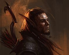 Illustrations, concepts, sketches and stuff. Fantasy Rpg, Medieval Fantasy, Dark Fantasy, Fantasy Warrior, Fantasy Character Design, Character Inspiration, Character Art, Character Reference, Elf Art