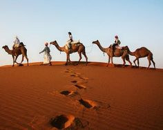10 Unforgettable Desert Adventures .... great ideas for unusual vacations.
