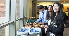 USciences served breakfast for DVSF winners and their families