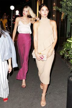 This Is What Lily Aldridge Wears for a Night Out During PFW via @WhoWhatWearUK
