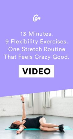 These 9 stretches are giving us life RN. #greatis…