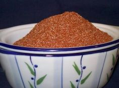 Neely's Barbeque Seasoning This is my take on the Neely's delicious bbq seasoning! From Down Home with the Neely's cookbook. The original recipe calls for white sugar, I added the optional garlic powder and black pepper. Bbq Seasoning, Seasoning Mixes, Seasoning Recipe, Homemade Spices, Homemade Seasonings, Spice Rub, Spice Mixes, Spice Blends, Spice Jars