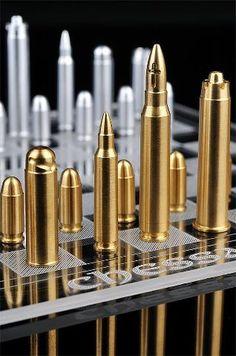 Bullet Chess Set.