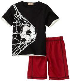 Kids Headquarters Boys 2-7 Generic Soccer Short Sleeve Shirt $19.99