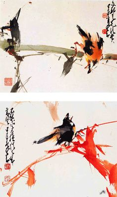 Tim Loh's Paintings: What is Chinese Brush Painting, not living in the past
