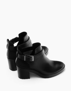 bfc78c9aeea Mid heel cut out platform ankle boots. Discover this and many more items in  Bershka