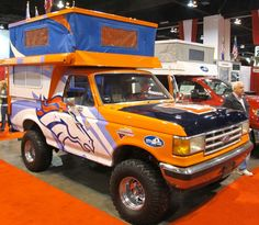 Ultimate Tailgating Camper: The Phoenix Bronco Bronco - Truck Camper Magazine