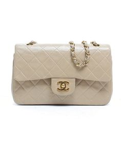 Chanel Pre-Owned Chanel Lambskin Medium Vintage Double Flap Bag | BLUEFLY up to 70% off designer brands