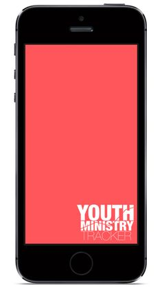 Youth Ministry Tracker - there's an app for that.