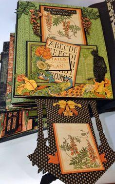 annes papercreations: Graphic 45 Artisan style photo album Part 4