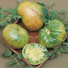 Aunt Ruby's German Green heirloom tomato seeds - Garden Seeds - Vegetable Seeds