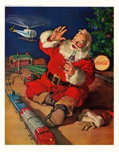 A Refreshing Pause for Santa