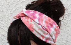 Beautiful Twisted Turban Headband - DIY - AllDayChic