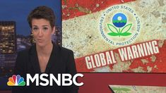President Donald Trump Actions Affirm Fears For Environment | Rachel Mad...