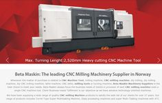 betamaskin:The leading CNC Milling Machinery & Machine Tool Supplier in Norway