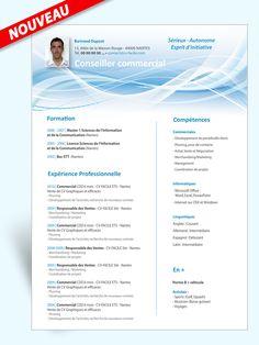 Exemple modèle CV Conseiller commercial