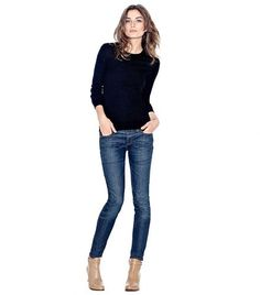 The Bootie + Skinny Jean | Womens Video: Shoe & Tell | ToryBurch.com