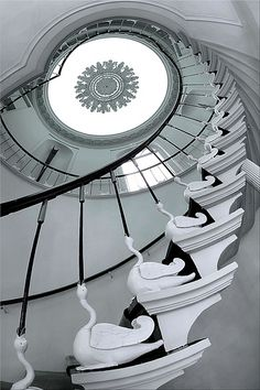 Swan stairs