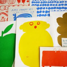 MOGU ART PAPERS SET. €10.00, via Etsy.